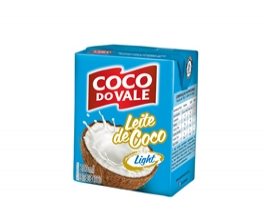 Leite de coco Esterilizado - Light - 200ml